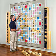 World's Largest Scrabble Game