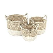 Sea Grass Storage Baskets