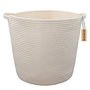 Natural Cotton Rope Storage Basket