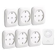 Puck Lights with Remote Control,Goldmore 6 Pack LED Tap Lights Battery-powered Touch Lights-Kitchen Under Cabinet Lig...