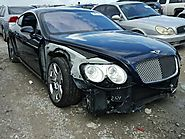 Salvage Vehicle Title 2005 Bentley All Models Coupe 6.0L 12 For Sale in Houston (TX) - 18671607
