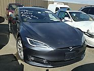 Salvage Certificate 2016 Tesla Tesla Hatchbac .0L For Sale in Martinez (CA) - 22169817