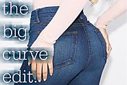 THE BIG CURVE EDIT : 25 PAIRS OF JEANS FOR CURVY GIRL'S