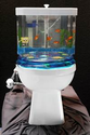 Toilet-topper lets you flush with fishes - Business - Small business - What Were They Thinking? - msnbc.com