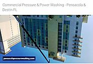 Elite Power Washing Cleans FL Commercial Roofs and Pathways