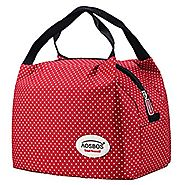 Aosbos Reusable Insulated Lunch Box Tote Bag
