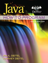 Java How to Program (early objects) (9th Edition) (Deitel)