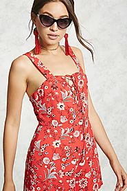 Contemporary Floral Romper $19.90 @ Forever 21