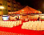 Tent house in Jaya nagar, Search Online Tent House Nearby your location, Tent house services