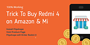 Buy Redmi 4 Flash Sale