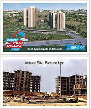 Best Apartment Bhiwadi construction Updates june 2017.