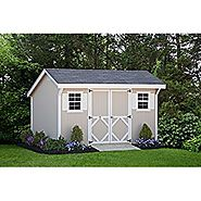 Little Cottage Company Classic Saltbox 8'x12' DIY Shed Kit