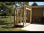 How To Build a Lean-To Style Storage Shed