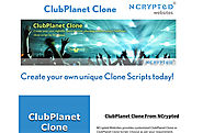 'ClubPlanet Clone' from 'Website Clones' by NCrypted Websites