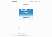 ClubPlanet Clone by NCrypted Websites on Gibbon