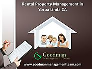Rental Property Management in Yorba Linda CA