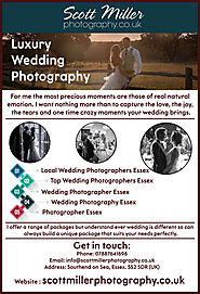 Professional Wedding Photography in Essex