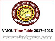 VMOU Time Table