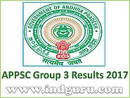 APPSC Group 3 Results