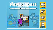 [Video] Newspapers: Reading, discussing, analysing and writing reports | Discovery Education UK