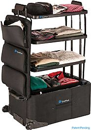 The Game-Changing Suitcase with Integrated Shelves!