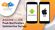 iOS and Android work differently and thus they treat notification uniquely. To know how read Android vs IOS - Push No...