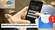 Firebase allows you to send notifications across platforms for free. It has its standalone range of useful benefits; ...