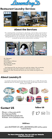 Restaurant Laundry Services