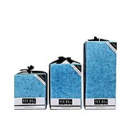 Blue Bar Candles