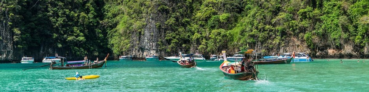 Headline for Most Popular Islands in Thailand – From Breathtaking Scenery to Full Moon Parties