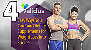 4 Easy Ways You Can Turn Dietary Supplements for Weight Loss Into Success