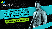 Validus Nutrition Total Synergy - The right supplements to give complete nutrition to both adults and kids