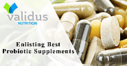 Nutritional supplements By ValidusNutrition