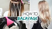 How to Balayage Hair | Freehand Painting