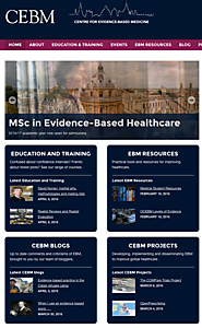 Center for Evidence-Based Medicine