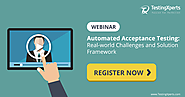 Automated Acceptance Testing - Webinar June 22, 2017