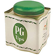 PG Tips Tea Caddy With Tea Bags