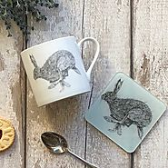 Hare Mug & Coaster Set