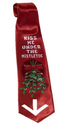 Kiss Me Under the Mistletoe Funny Neck Tie