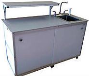 What are the Advantages of a Self-Contained Portable Sink?
