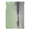 Green Purple Santa Monica Pier iPad Mini Covers