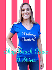 BEACH QUOTE T SHIRTS