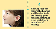 Myths about Hearing Loss and Hearing Aid