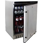 Blaze Blz-Ssrf-50D Outdoor Rated Stainless 24 In. Refrigerator 5.2 Cu