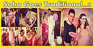 Check Out Pregnant Actress Soha Ali Khan's Baby Shower Pictures.
