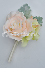 Tie the Knot of Wedding in the Presence of beautiful Silk Wedding Flowers