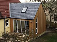 Modern Wooden Home Extension