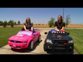 Power Wheels Race Disney Princess vs Police Charger