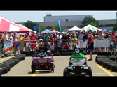 Power Wheels Drag Race - Maker Faire Detroit