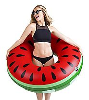 BigMouth Inc. Giant Watermelon Pool Float